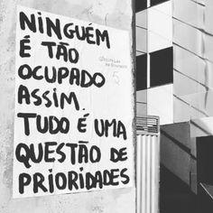 Quais são suas prioridades para hoje?  Inclua-se nelas! #coach #ficaadica #amorproprio #prioridades #crescendoemsp #agentenaoquersocomida #avidaquer @avidaquer por @samegui avidaquer.com.br ( @kkcamilla) http://ift.tt/2nFrY4E
