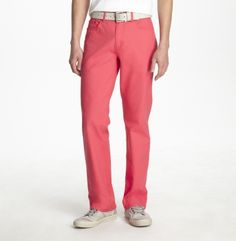 Straight-Leg Stretch Canvas Jeans. Kenneth Cole New York.