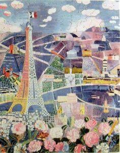 Raoul Dufy Paris Printemps                                                                                                                                                                                 Plus