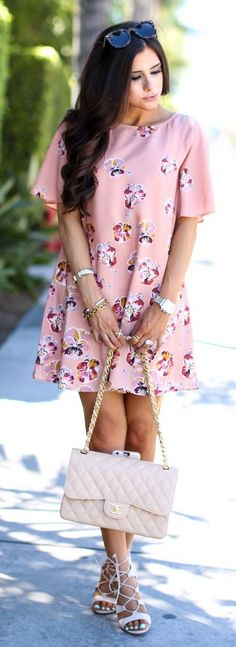 DRESS: Cece by Cynthia Steffe (true to size) | SHOES: Steve Madden | BAG: Chanel