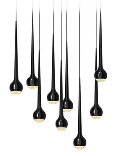Falling water in black | lighting . Beleuchtung . luminaires | Design made in…