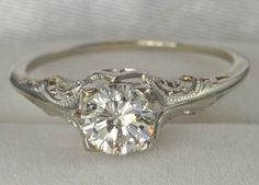 vintage wedding ring  #ring #wedding by phototastic