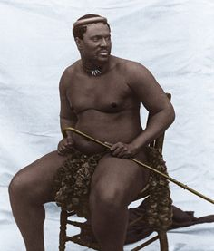 King Cetshwayo kaMpande leads the Zulu people during the Anglo-Zulu War Zulu Warrior, African Royalty, By Any Means Necessary, African Diaspora, African American History, World History, Black People, Black Is Beautiful, Black History