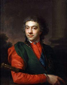 Józef (Josef) Pitschmann Portrait of Kazimierz Nestor Sapieha, Krakow, National Muzeum (Lvov, Historical Muzeum ?)