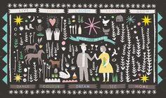Louise Lockhart | Illustration | Design | The Printed Peanut