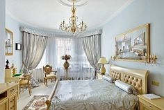 Master Bedroom: Marie Antoinette Style - French provincial furniture baroque style