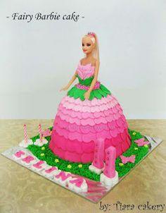 Tiara Cakery: Barbie cake