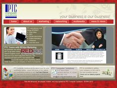 PTC Computer Solutions has been involved in the design and development of countless web sites through the years as well as designing and redesigning logos and other graphics. Though starting out and founding the business on building many sites here in northeast Florida PTC Computer Solutions has expanded to build sites around the country and internationally. Building a web site for the first time is one aspect of the business, but PTC has often worked on developing a more personalized and…
