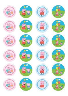 12 new photos Peppa Pig Baby, Peppa Big, Fiestas Peppa Pig, Cumple Peppa Pig, Birthday Souvenir, Pig Birthday, Birthday Parties, Invitacion Peppa Pig, Peppa Pig Stickers