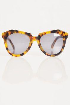 Karen Walker Number One Sunglasses - Primary New York