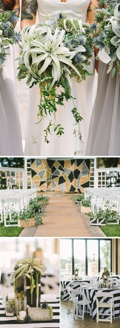 Edgy, Tim Burton-Inspired Wedding as seen on GWS - click through to see more!