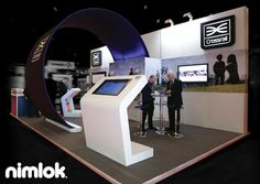 Nimlok has 40 years of experience designing trade show displays that bring clear ROI. For Crossrail we created a 20x20 trade show booth solution to showcase the brand.