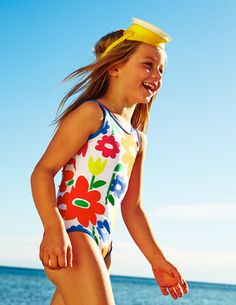 Printed Swimsuit from @bodenclothing