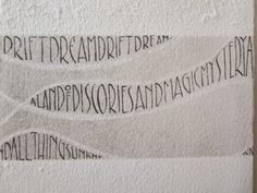 Paper Ponderings. Fiona Dempster, calligraphic and book artist.