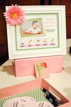Hostess with the Mostess® - Pink & Green Polka Dot 1st Birthday Party