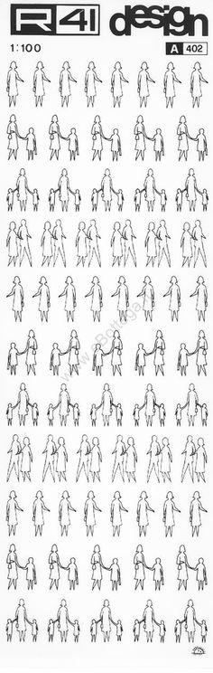 trasferibilir41 Figure umane 1:100, NERO. Trasferelli-Trasferibili R41 in fogli 9x25cm. p. 335 .