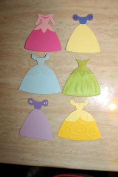 paper play cricut   Paper Art Princess: Disney Princess Dress Note Cards!! ... and a BIG ...