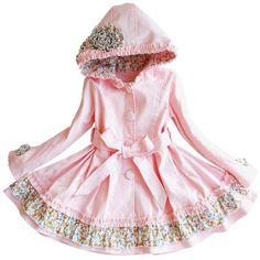 kaiCran Toddler Baby Florals Girls Dress Plaid Hoode Dress Lovely Cartoon Ears Clothes Outfits