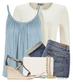 Burberry Wedge by houston555-396 on Polyvore featuring polyvore, fashion, style, Phase Eight, Topshop, Paige Denim, Burberry, Tory Burch, Alexis Bittar, Belk & Co., Trina Turk and clothing