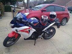 2012 Honda CBR Sportbike , Red White Blue for sale in Rowlett, TX
