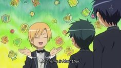 My name is nott Usui... Ha Ha Ha