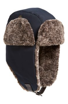 Ted Baker London 'Patanne' Ear Flap Hat available at Flap Hat, Trapper Hats, Winter Accessories, Hats For Men, Ted Baker, Faux Fur, Winter Hats, Nordstrom, Ear