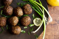 Spelt and Lamb Meatballs Recipe - NYT Cooking