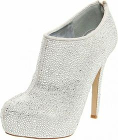 Chic and Fashionable Wedding Bootie
