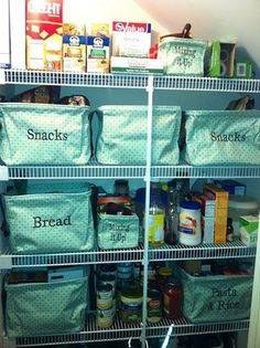 31 bags pantry organization for-the-home! Get more info at www.mythirtyone.com/CourtneysBags