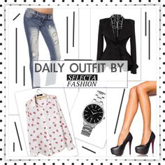 The Selection, Peplum, Unique, Sexy, Polyvore, Outfits, Inspiration, Image, Fashion
