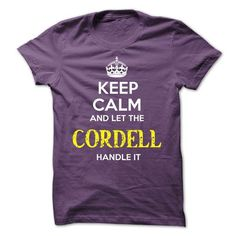 CORDELL KEEP CALM Team - #hoodies #cashmere sweater. CLICK HERE => https://www.sunfrog.com/Valentines/CORDELL-KEEP-CALM-Team-56738630-Guys.html?68278