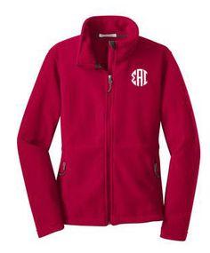 Sigma Alpha Iota Monogram Fleece Jacket by greekgearcom on Etsy https://www.etsy.com/listing/249851500/sigma-alpha-iota-monogram-fleece-jacket