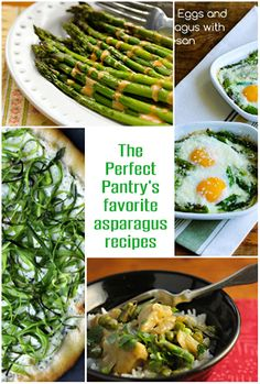 The Perfect Pantry's picks for favorite asparagus dishes of the season. [ThePerfectPantry.com]
