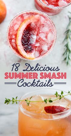 18 Summer Smash Cocktails You Need In Your Life