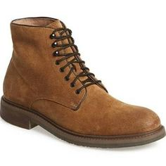 Men's 1901 'Grant' Plain Toe Boot, Brown
