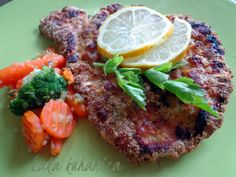 Panirani šnicli iz pećnice :: Baked schnitzels   Laka kuharica - Easy Cook