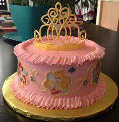Disney Princess cake- gumpaste tiara