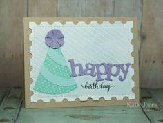 MCT Favorite Stamp of the Month | happy birthday | Crafting with Katie