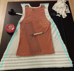 DIY Sewing Projects: Sleeveless Tunic #diyready  www.diyready.com