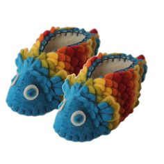Fish Zooties Baby Booties