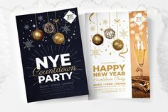 nye party poster template psd ai vector brandpacks New Year Eve Party Psd Free 2021 Nye Flyer Template nye new year flyer champagne night on behance nye flyer template events flyers flyer design new ye... Free Psd Flyer Templates, Print Templates, Nye Party, Party Flyer, New Years Countdown, Christmas Flyer, Creative Flyers, Happy Party, Party Poster
