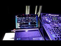 Pioneer DJ equipment.