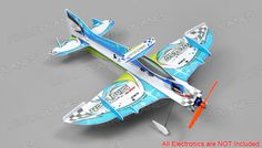Tech One RC 4 Channel Mini Apollo Depron Kit Version