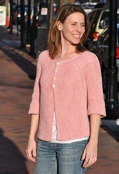 Corinne cardigan : Knitty Spring+Summer 2011