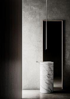 L'ARIA collection by Toscoquattro Bathroom Vanity Units, Bathroom Toilets, Bathroom Furniture, Bathrooms, Modern Sink, Modern Bathroom, Italian Bathroom, Backyard Pool Designs, Bathroom Design Inspiration