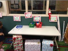 Dramatic Play Gift Wrap Station! by The Teaching Zoo