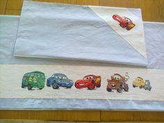Le mie crocette - Lenzuolino da lettino con le Cars