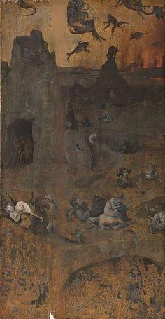 The Hell and the Flood P1 - Liste des œuvres de Jérôme Bosch — Wikipédia