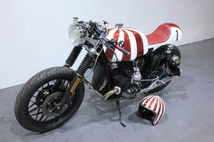 "Kevils Speed Shop ""Ruby!"" BMW R100 Cafe Racer  by kevils speed shop CAFE RACERS, via Flickr"