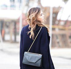 Saint Laurent Betty Medium Chain Leather Shoulder Bag 55